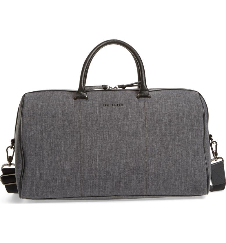 TED BAKER LONDON Caper Duffle Bag, Main, color, 010