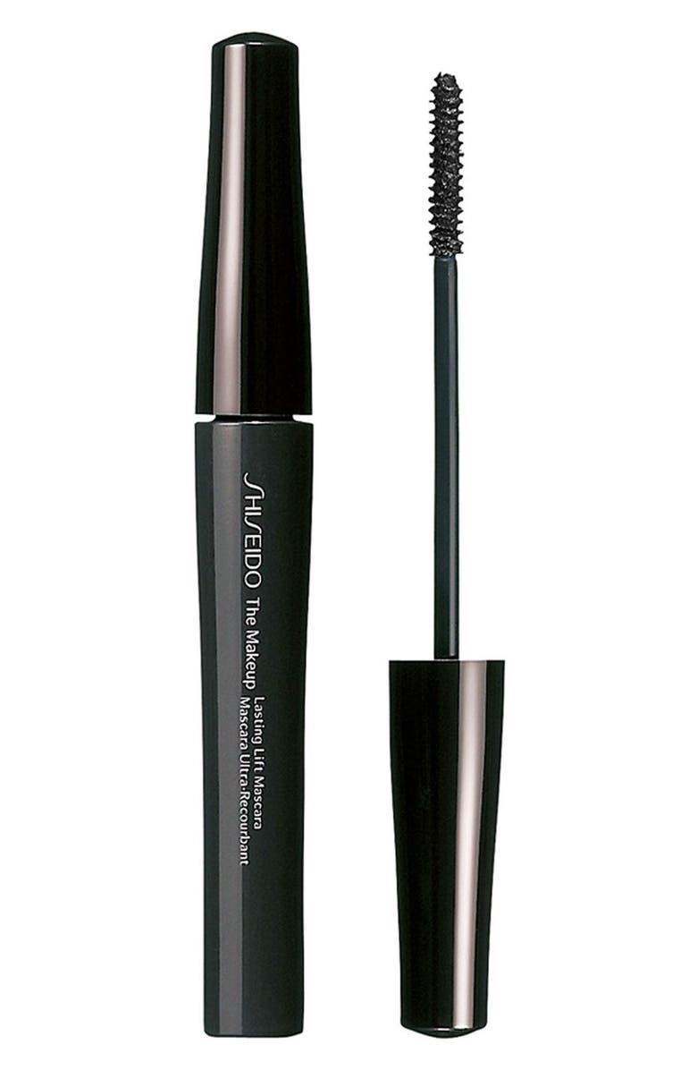 SHISEIDO 'The Makeup' Lasting Lift Mascara, Main, color, 001