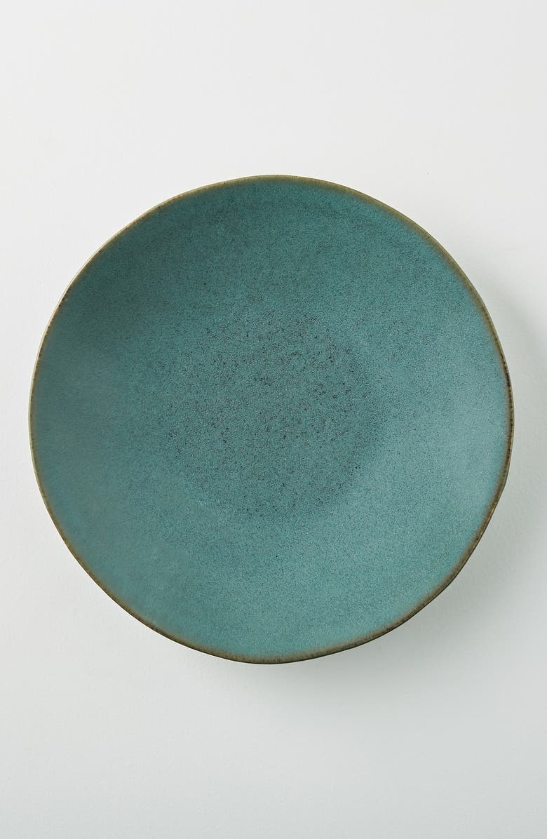 ANTHROPOLOGIE HOME Home Rumer Set of 4 Side Plates, Main, color, DARK TURQ