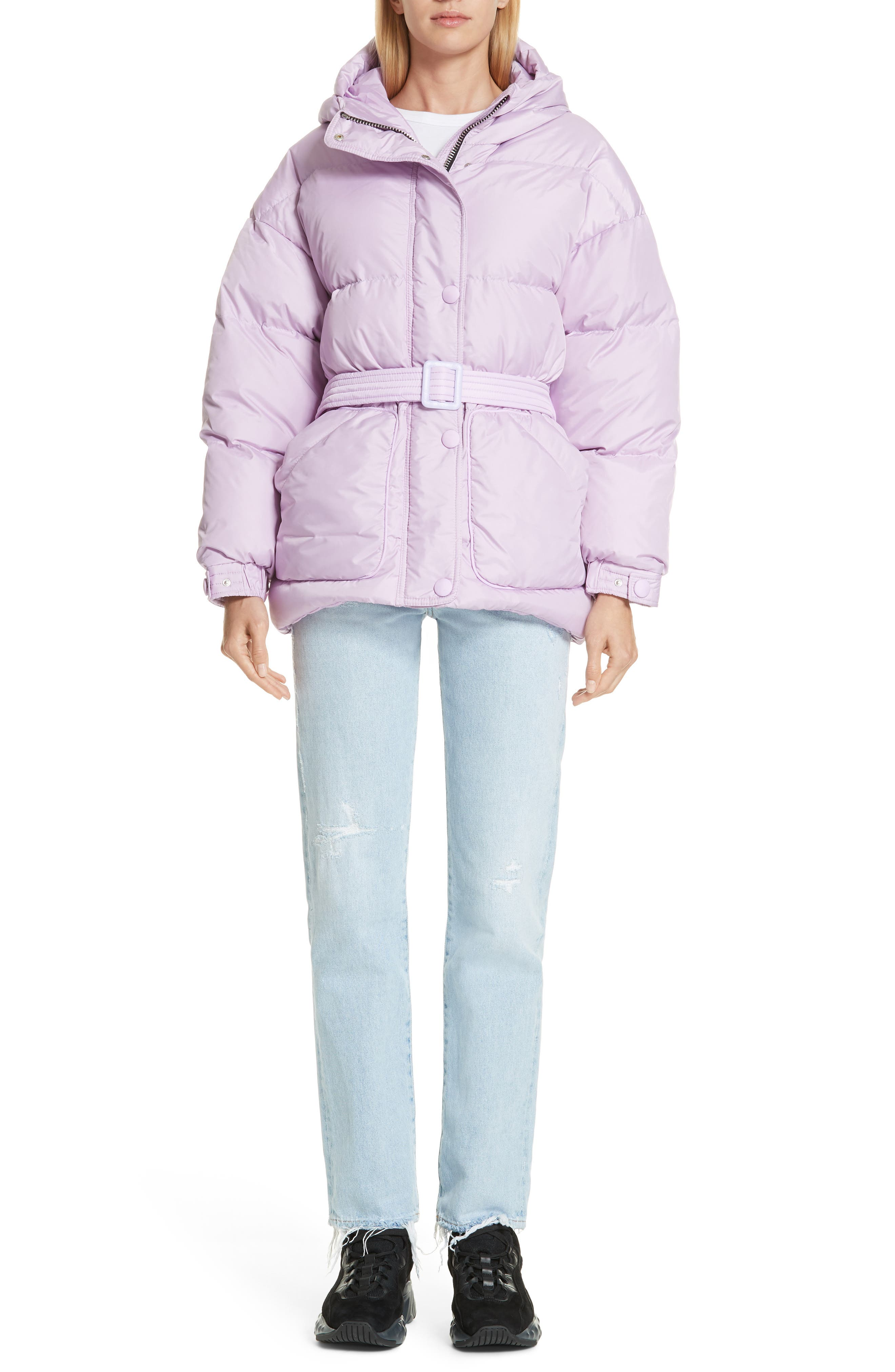 ,                             Michelin Hooded Down Puffer Coat,                             Alternate thumbnail 21, color,                             500
