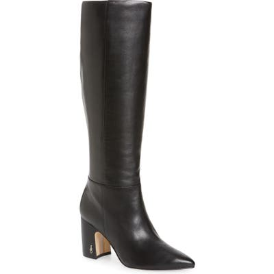Sam Edelman Hiltin Knee High Boot, Black