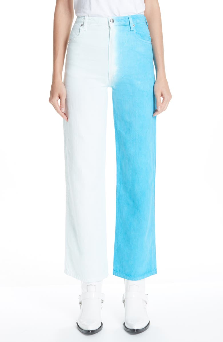 ECKHAUS LATTA Wide Leg Jeans, Main, color, 400