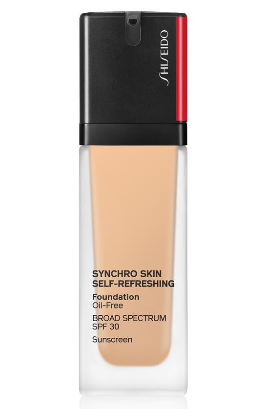 Shiseido Synchro Skin Self-refreshing Foundation Spf 30 260 - Cashmere 1.0 oz/ 30 ml In 260 Cashmere
