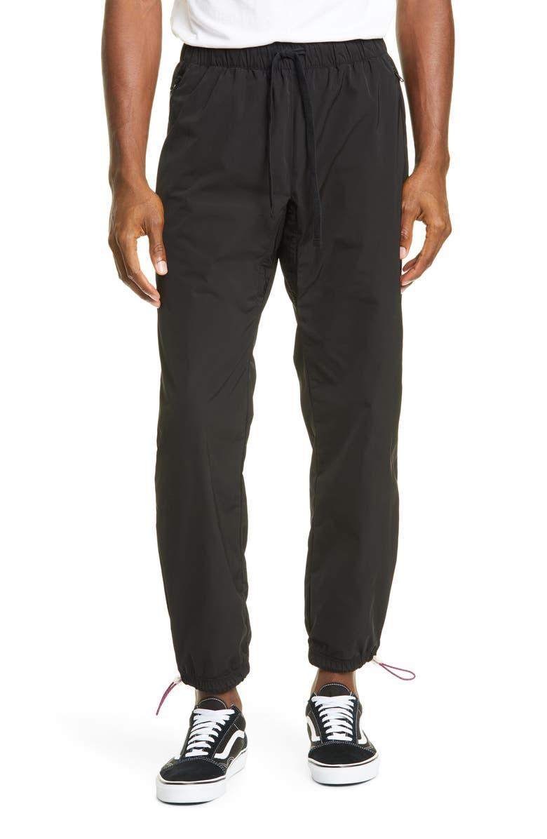 OVADIA & SONS Drawstring Trail Pants, Main, color, BLACK