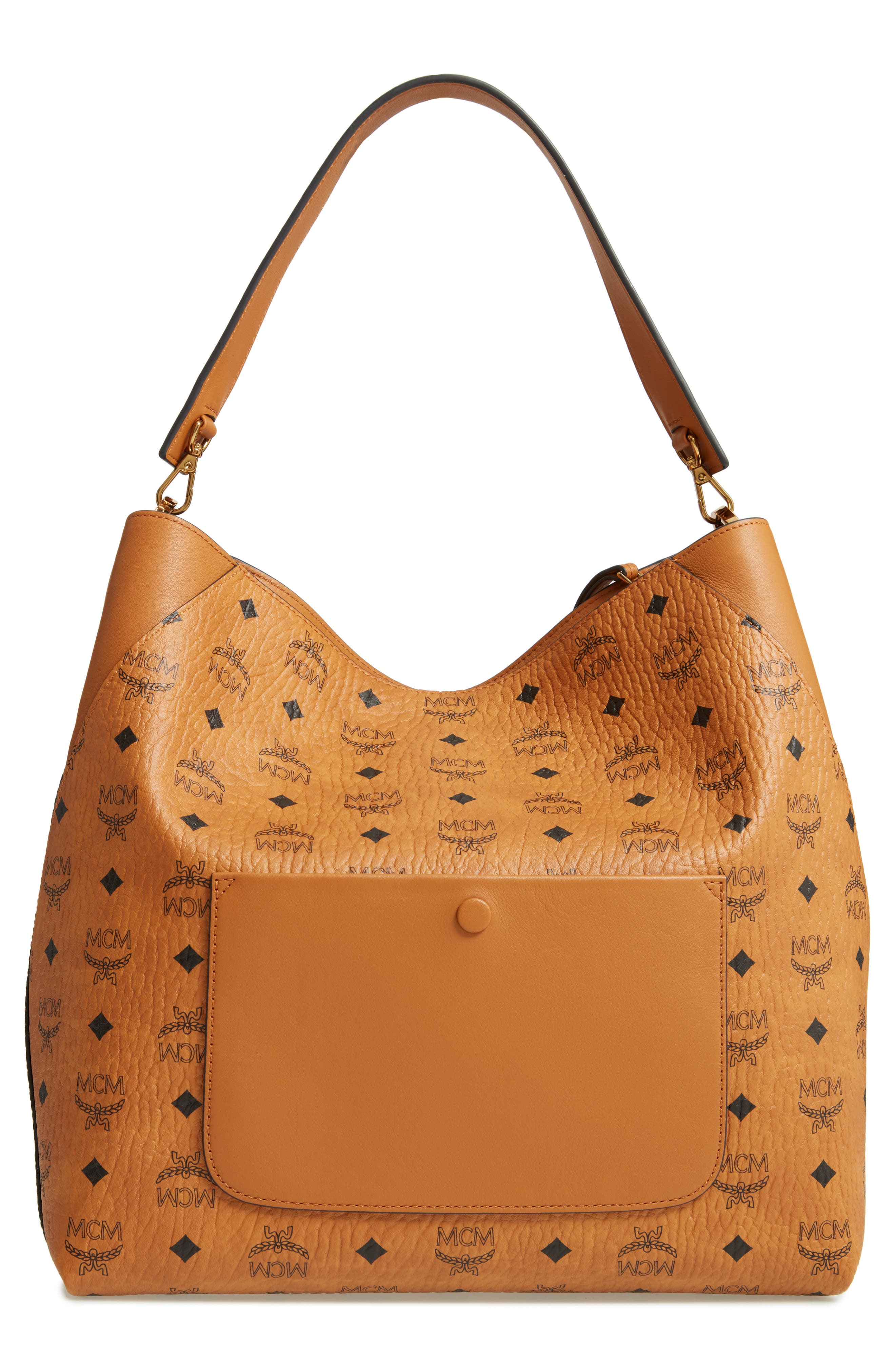 ,                             Large Klara Visetos Coated Canvas Hobo,                             Alternate thumbnail 13, color,                             200