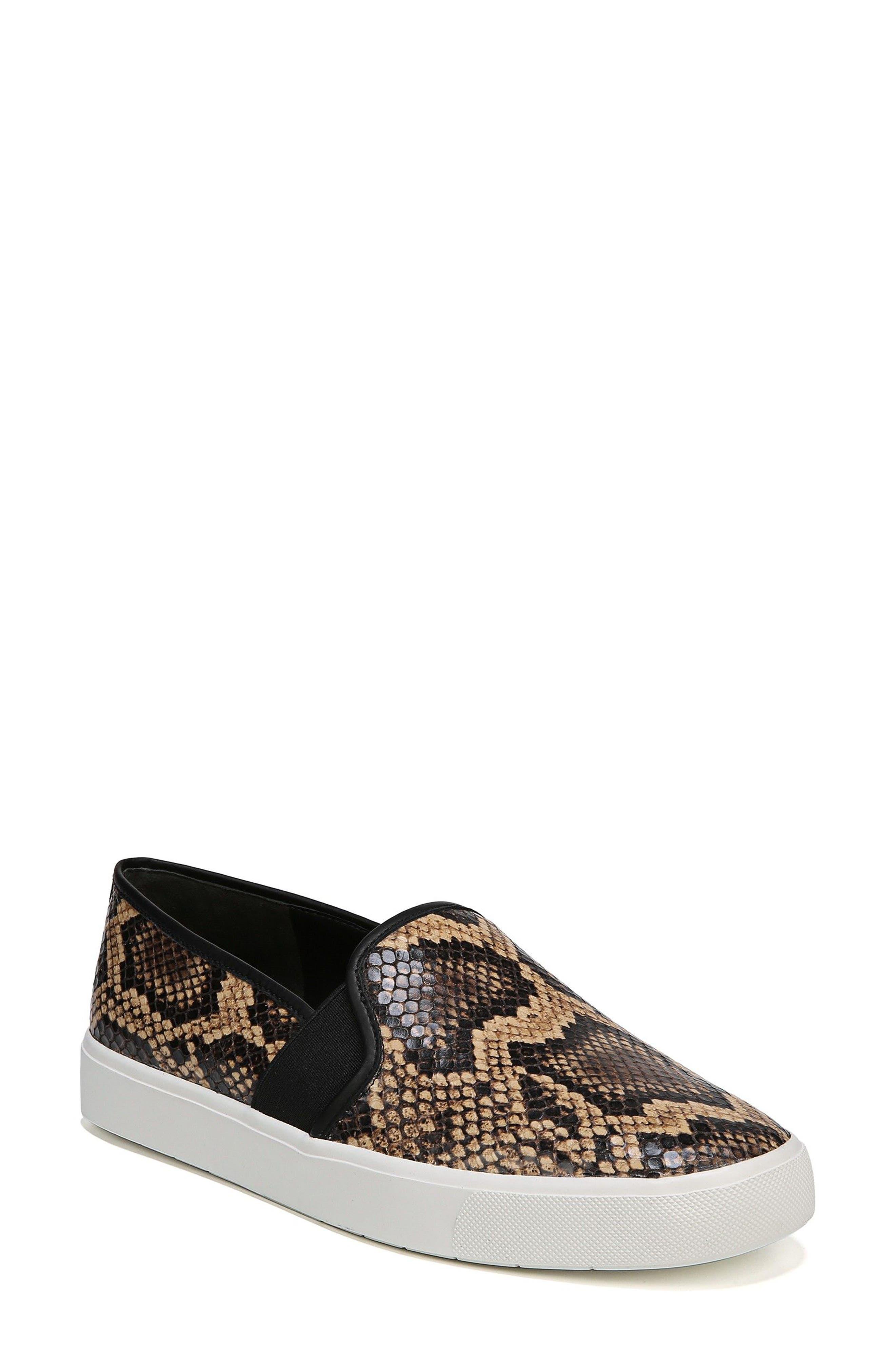 Vince Blair 5 Slip-On Sneaker- Brown