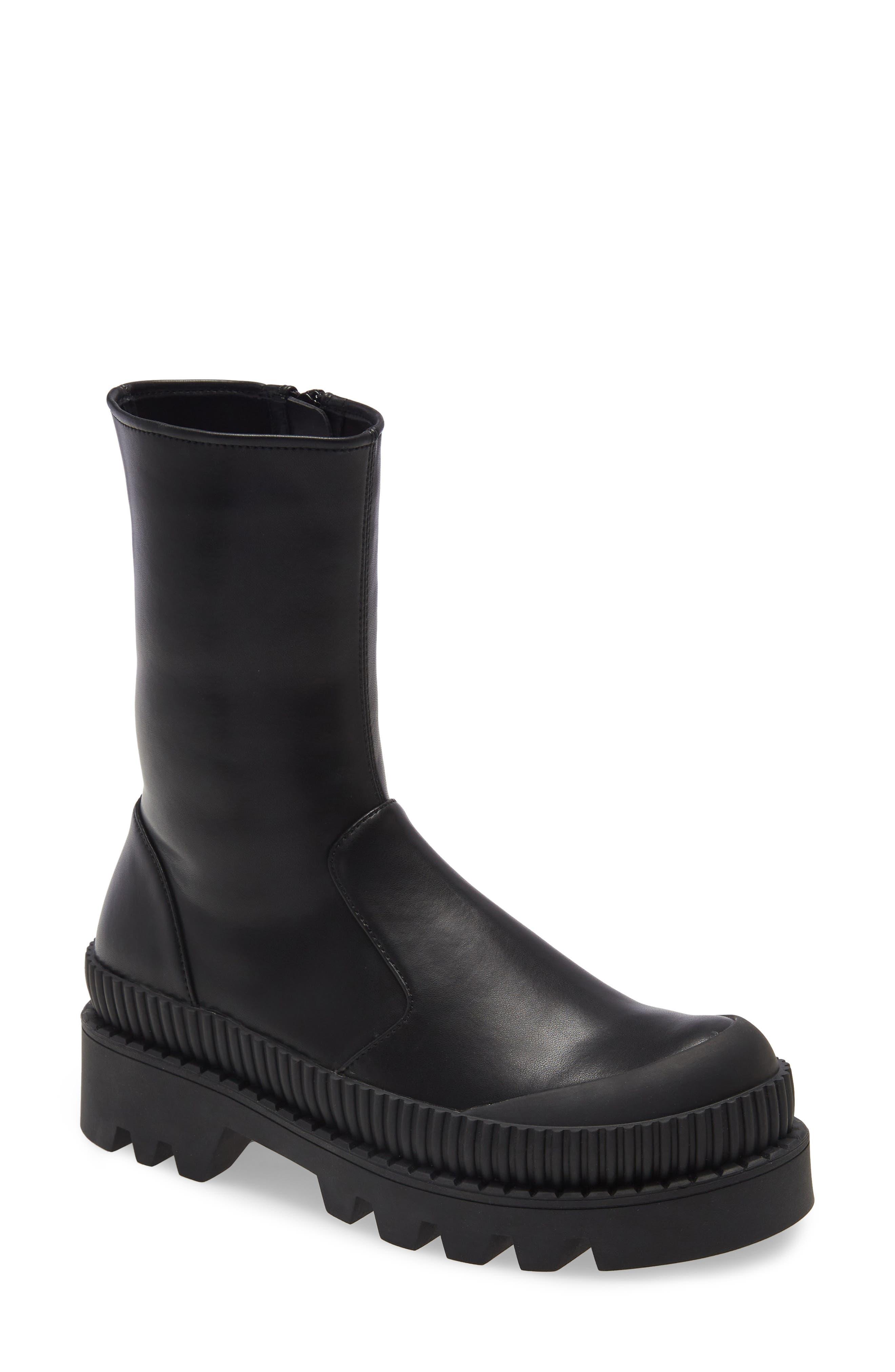Tough Platform Boot