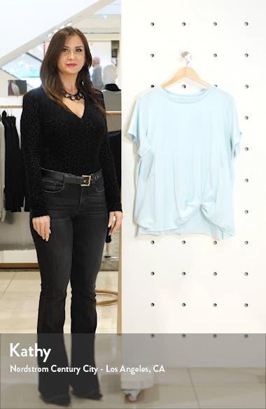 Twist Hem T-Shirt, sales video thumbnail