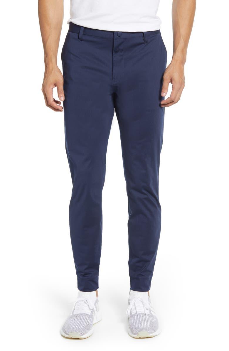 RHONE Commuter Slim Fit Jogger Pants, Main, color, NAVY