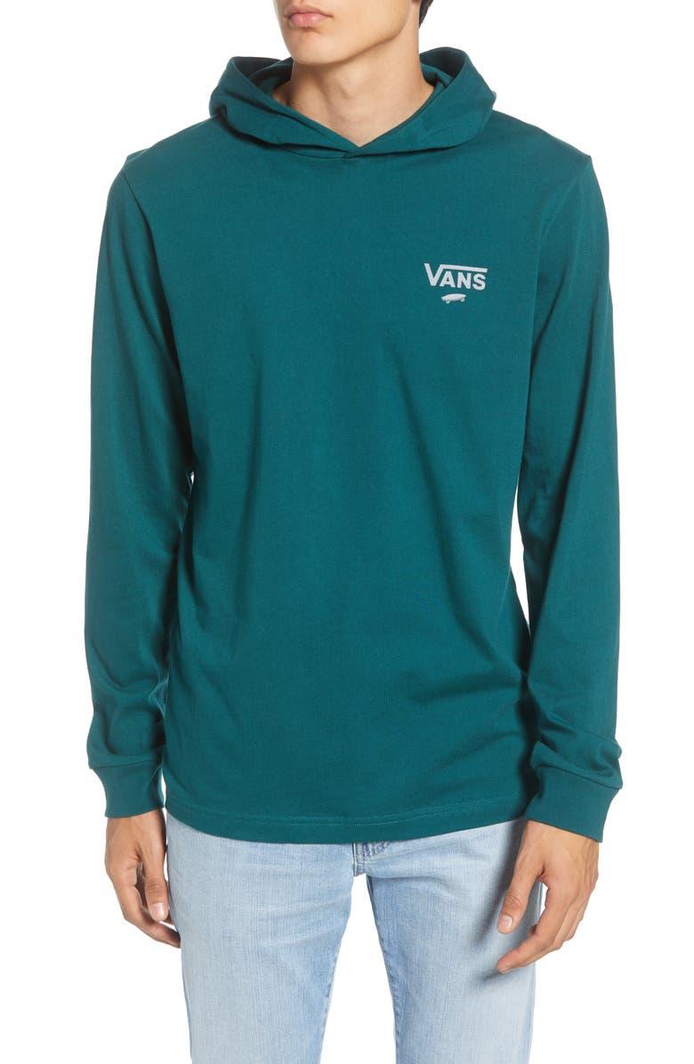 VANS Van Doren Pullover Hoodie, Main, color, VANS TREKKING GREEN