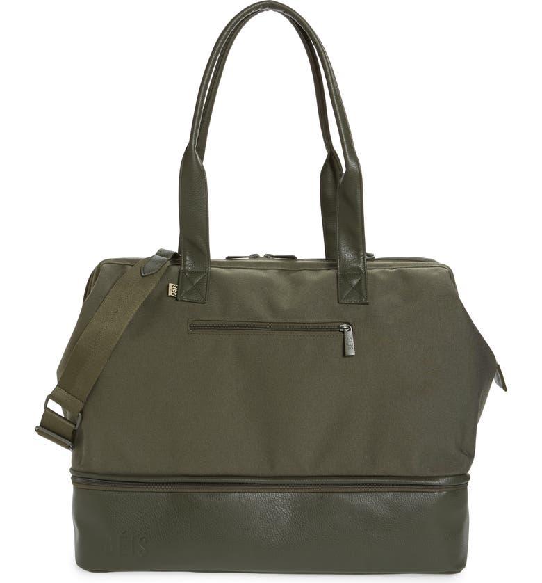 BÉIS Weekend Convertible Travel Bag, Main, color, GREEN