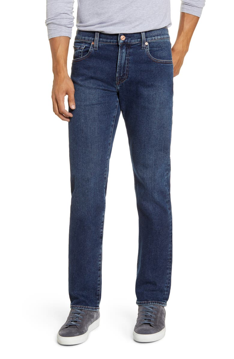 7 FOR ALL MANKIND<SUP>®</SUP> Slimmy Slim Fit Jeans, Main, color, MELROSE