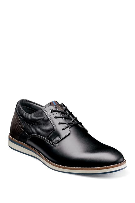Image of NUNN BUSH Circuit Leather Plain Toe Derby - Wide Width Available