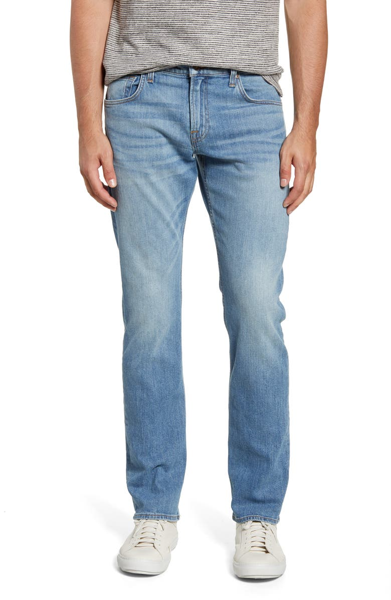 7 FOR ALL MANKIND<SUP>®</SUP> The Straight Slim Straight Leg Jeans, Main, color, TRACTION