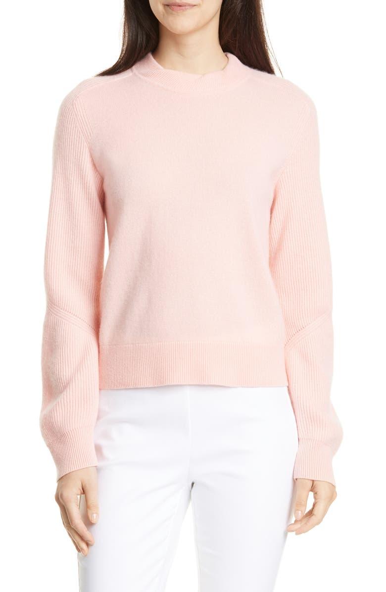 RAG & BONE Logan Cashmere Sweater, Main, color, PNKROSE