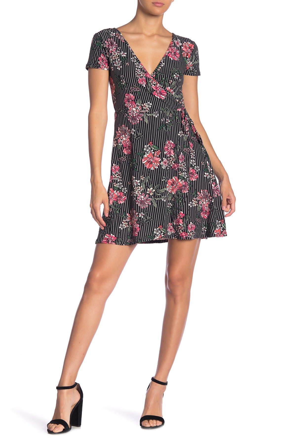 Image of PLANET GOLD Bambis Yummy Short Sleeve Dress
