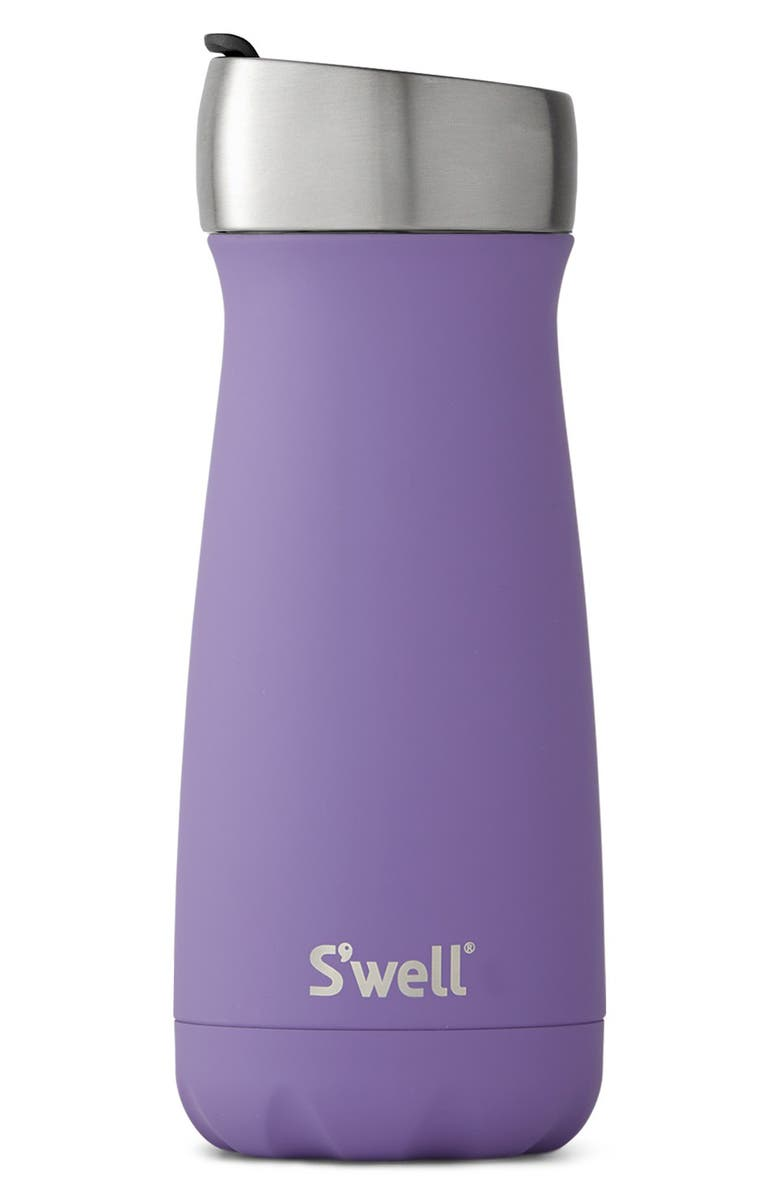 S'WELL Purple Heat 16 Ounce Insulated Stainless Steel Commuter Water Bottle, Main, color, 509