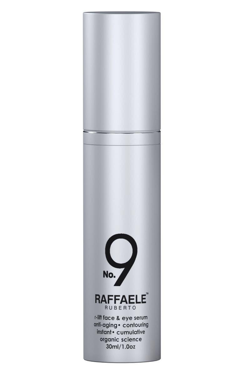 RAFFAELE RUBERTO<SUP>®</SUP> SKIN Formula No. 9 R-lift Face & Eye Serum, Main, color, NO COLOR