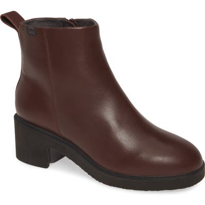 Camper Wonder Gore-Tex Waterproof Bootie, Burgundy