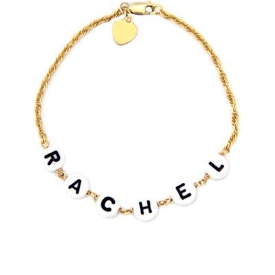Jane Basch Designs Beaded Baby Name Bracelet