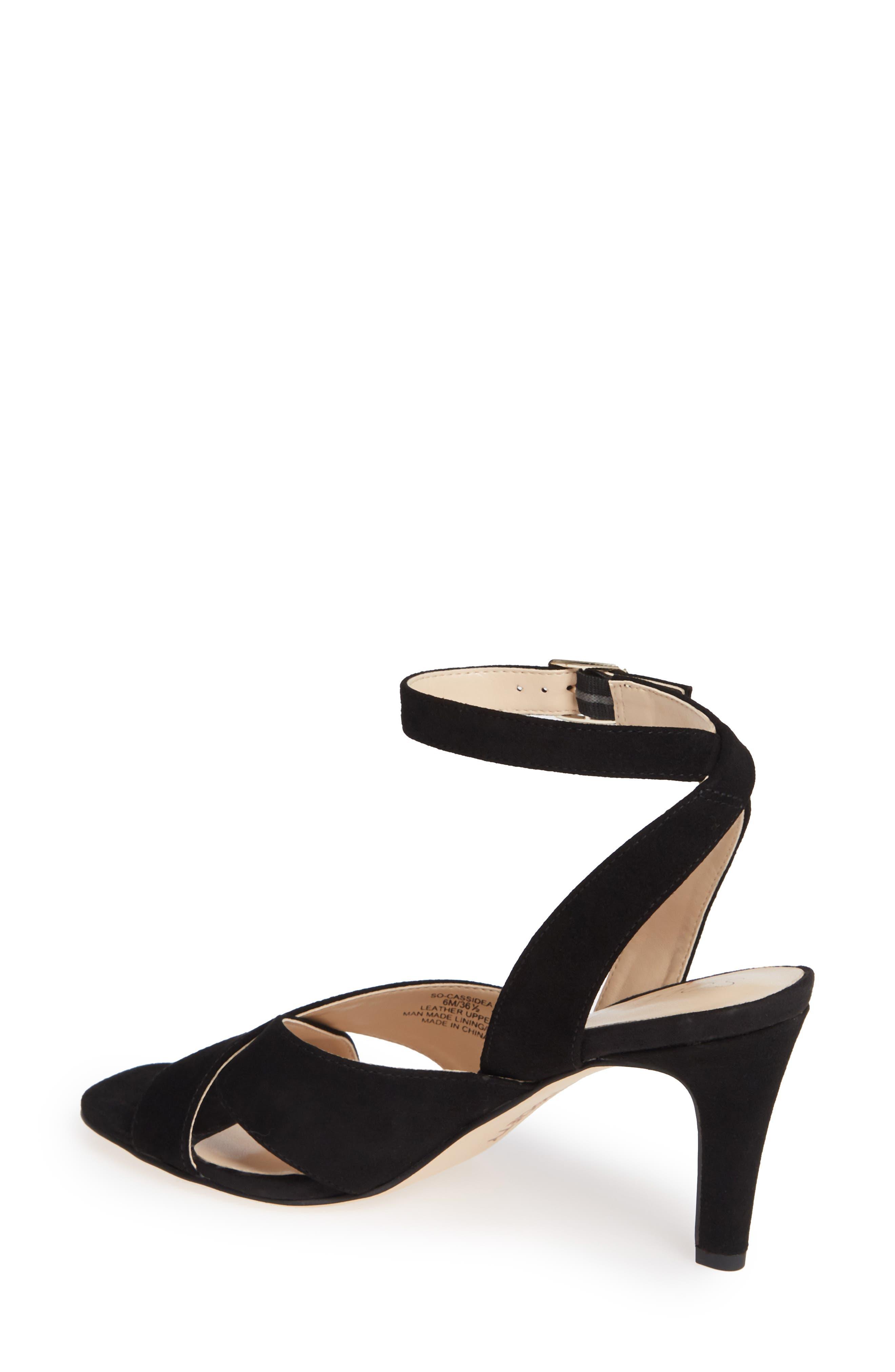 ,                             Cassidea Ankle Strap Sandal,                             Alternate thumbnail 2, color,                             001