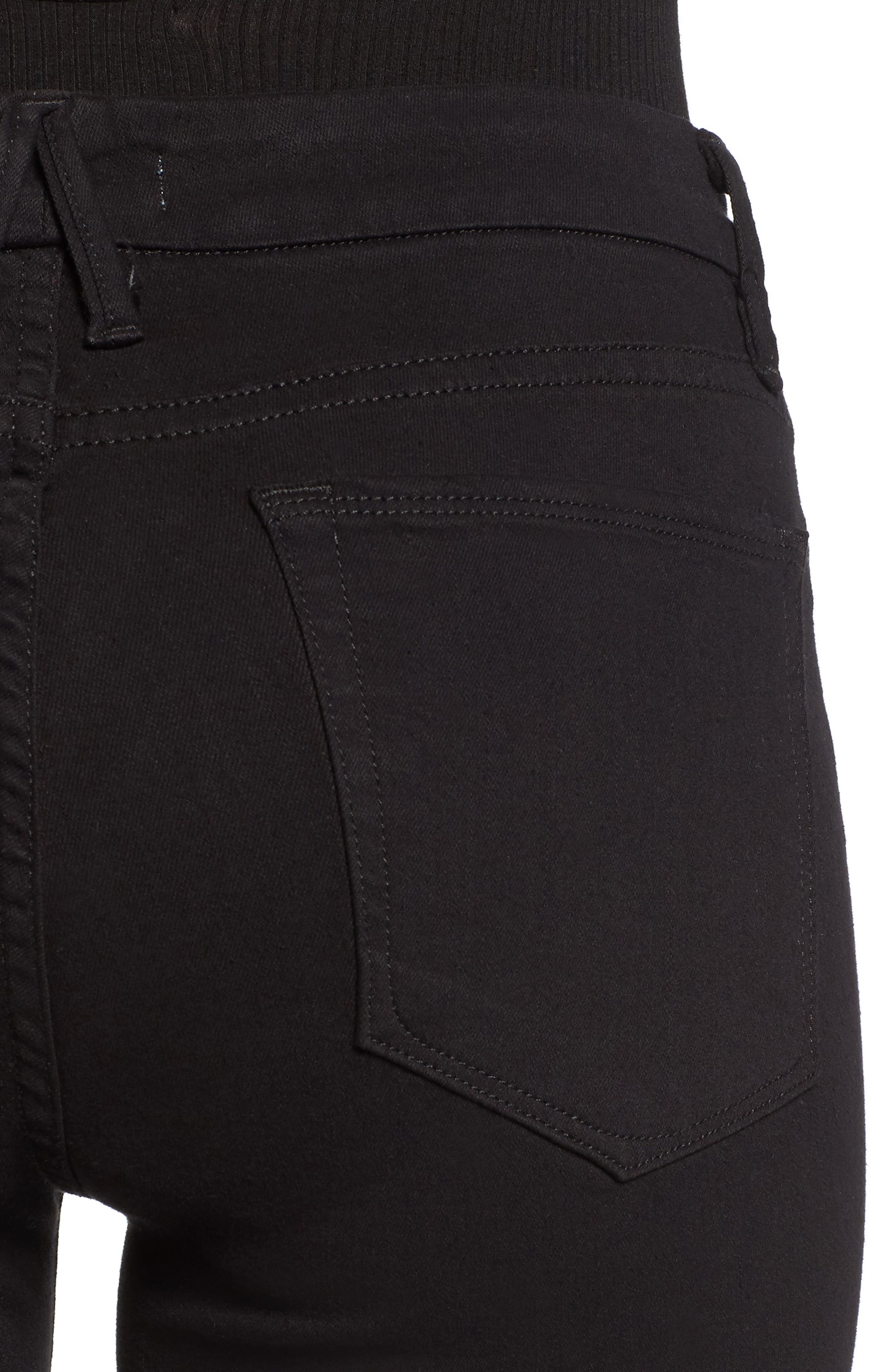,                             Good Legs High Rise Skinny Jeans,                             Alternate thumbnail 7, color,                             BLACK 001