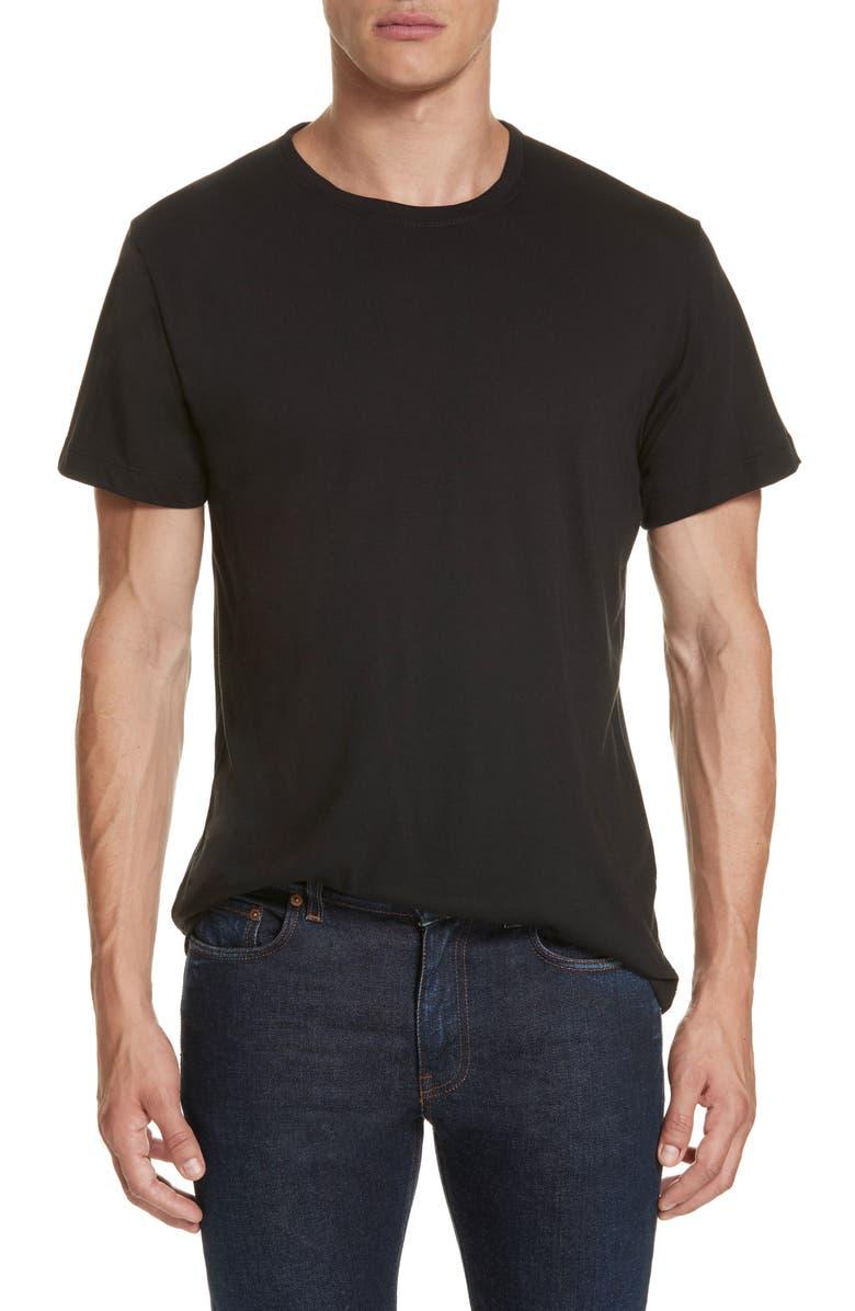 JOHN ELLIOTT Slim Fit Crewneck T-Shirt, Main, color, 001