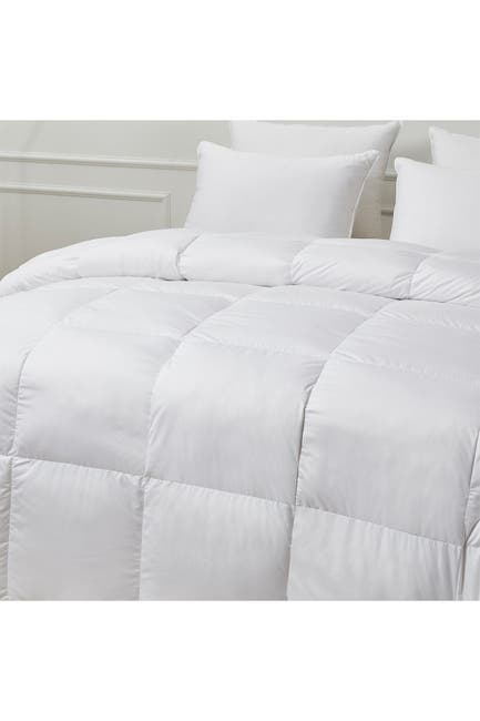 Image of Blue Ridge Home Fashions Scott Living All Season Warmth Goose Feather & Down Natural Blend Comforter - King - White