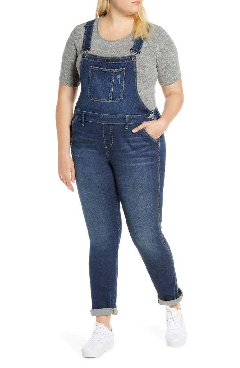 SLINK JEANS The Overalls, Main, color, BROOK
