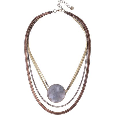 Nakamol Design Layered Pendant Necklace