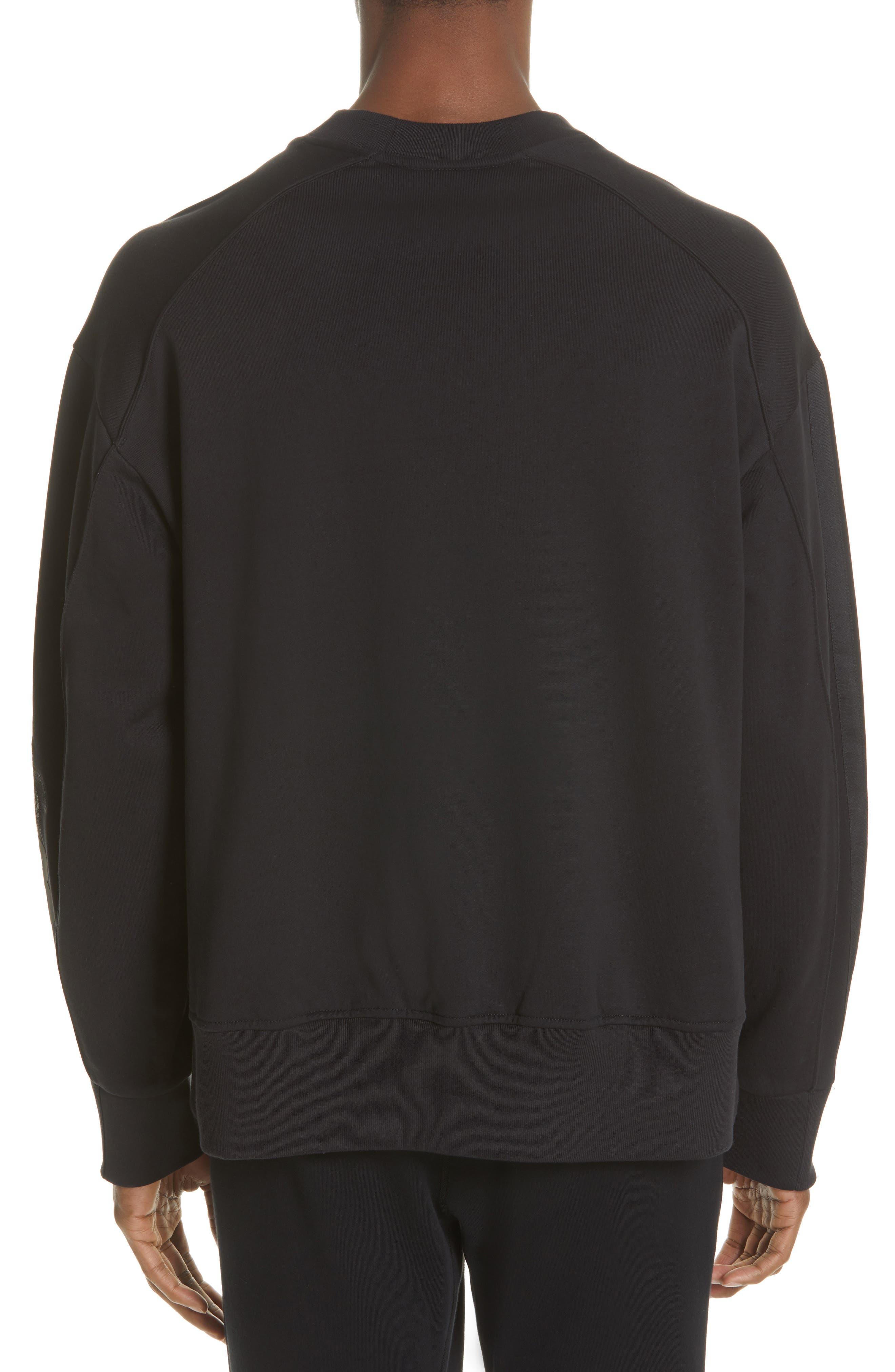 ,                             x adidas Skull Crewneck Sweatshirt,                             Alternate thumbnail 2, color,                             BLACK