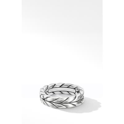 David Yurman Chevron Woven Band Ring