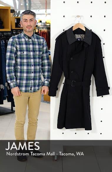 Barrington Classic Fit Cotton Blend Trench Coat, sales video thumbnail