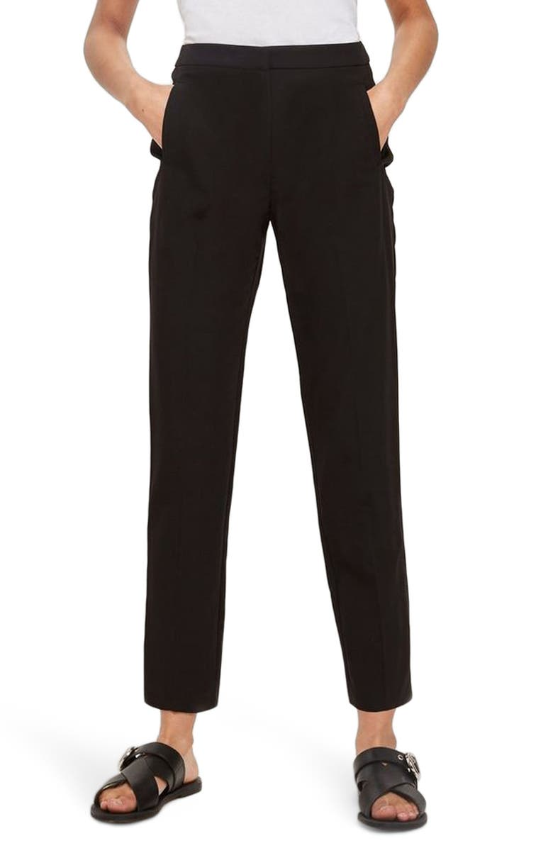 a9f8d1297071 Topshop High Waist Cigarette Trousers | Nordstrom