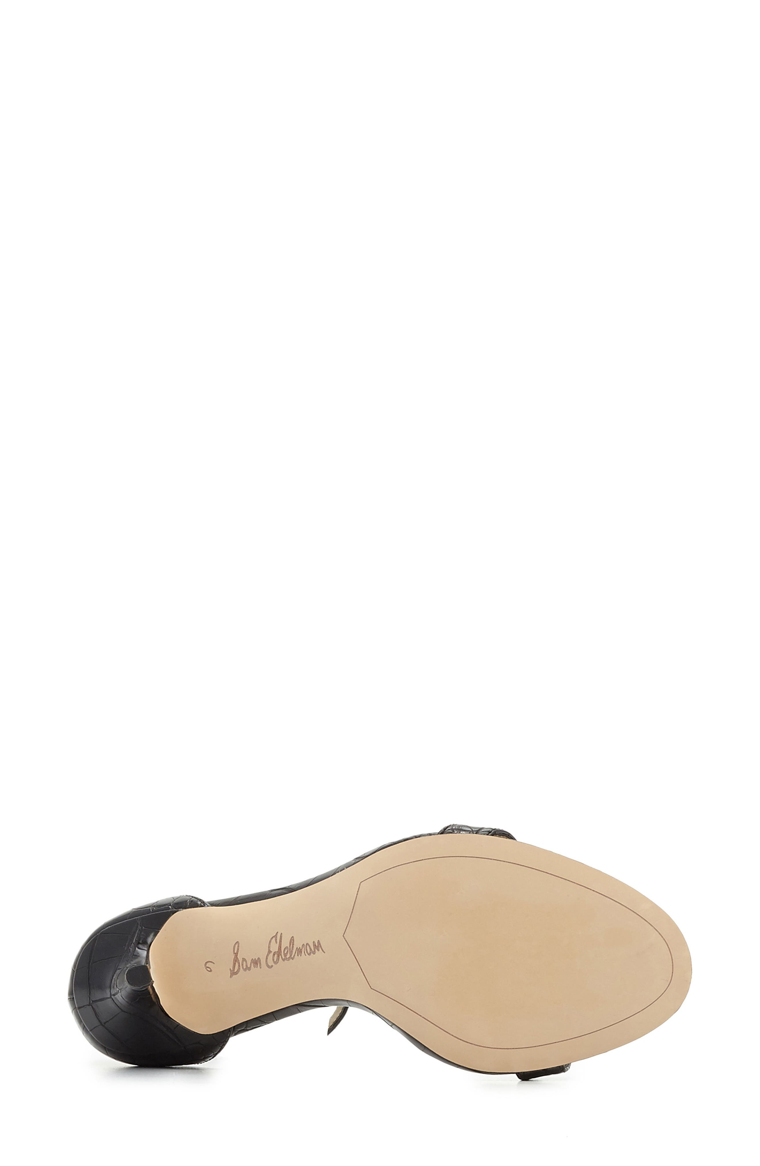 ,                             'Patti' Ankle Strap Sandal,                             Alternate thumbnail 18, color,                             007