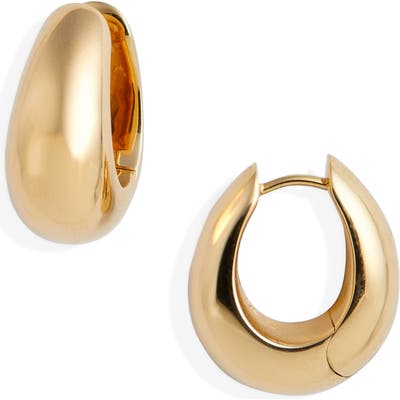 Tom Wood Medium Ice Hoop Earrings
