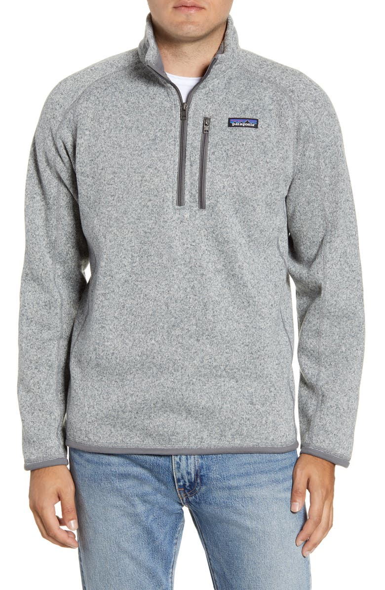 PATAGONIA Better Sweater<sup>®</sup> Quarter Zip Jacket, Main, color, STONEWASH