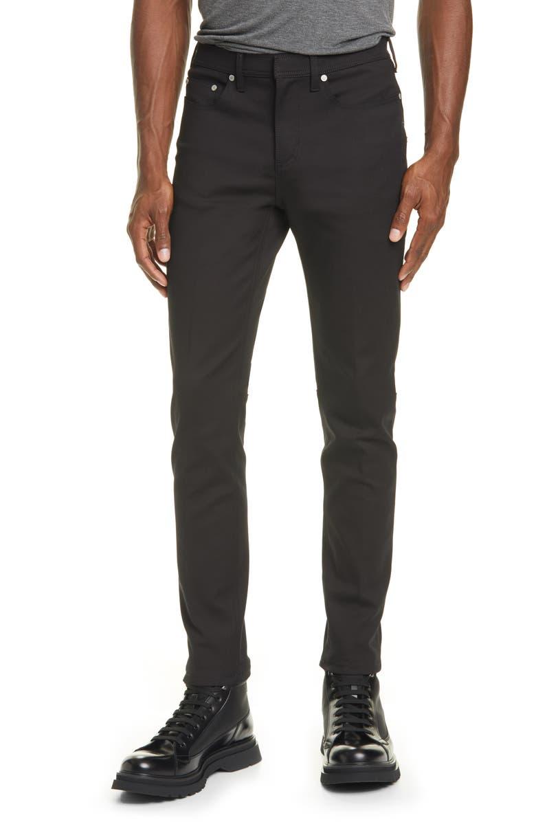 NEIL BARRETT Slim Fit Jeans, Main, color, BLACK