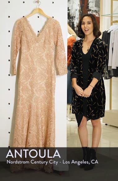 Lace Evening Dress, sales video thumbnail