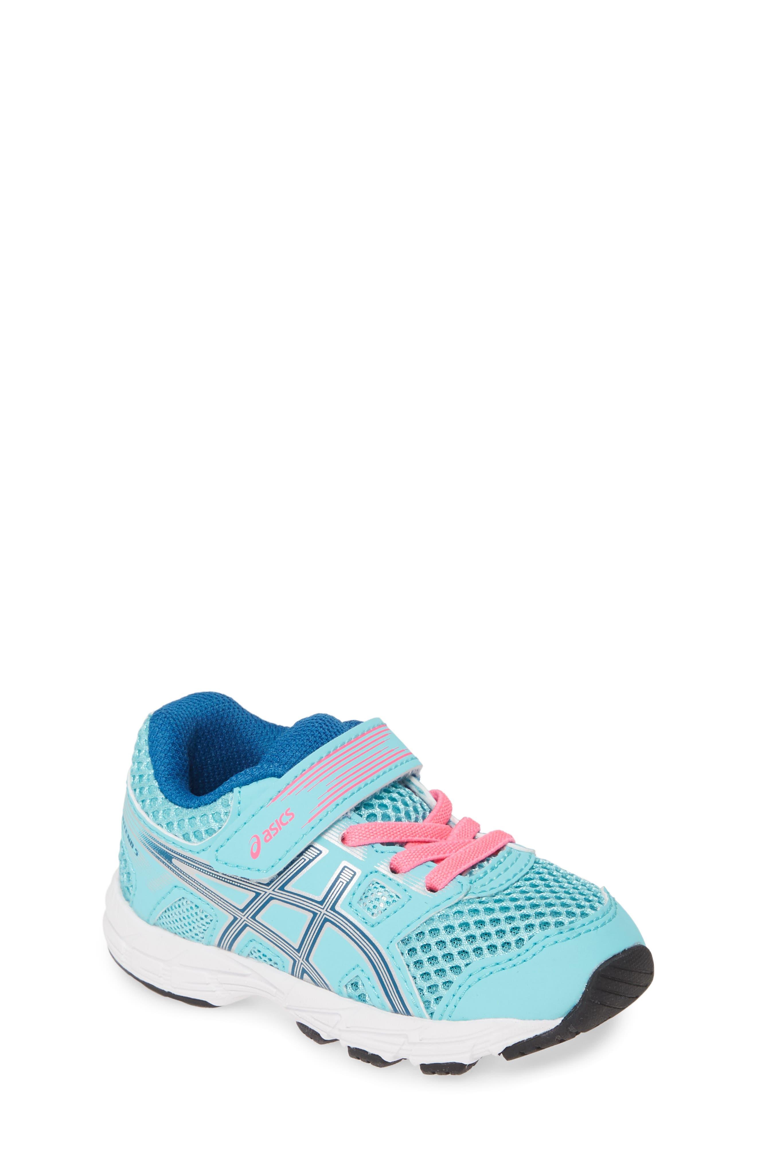 Toddler Boys Asics GelContend 5 Ts Running Sneaker Size 6 M  Bluegreen