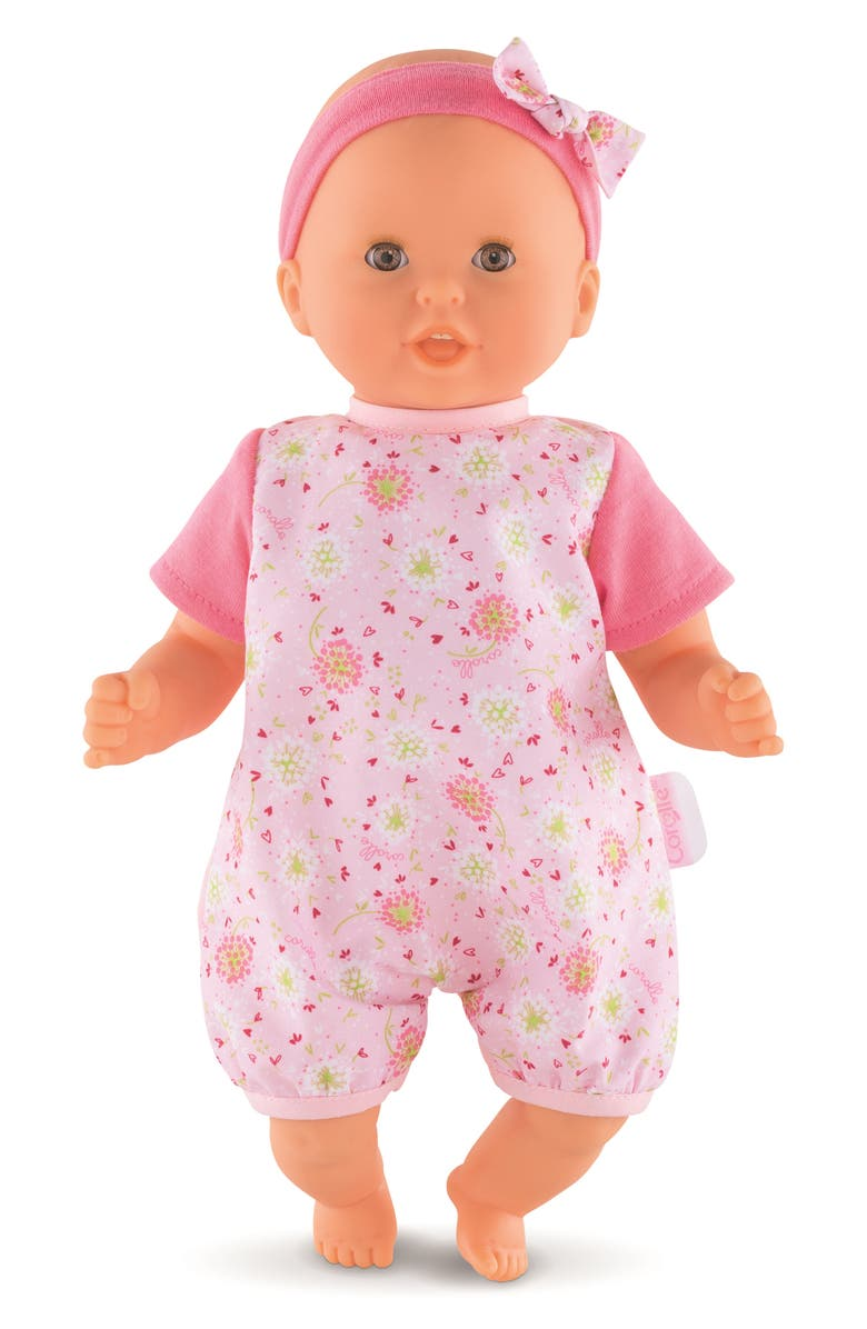 COROLLE Bébé Calin Loving & Melodies Baby Doll, Main, color, PINK