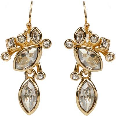 Alexis Bittar Asteria Nova Navette Crystal Cluster Drop Earrings