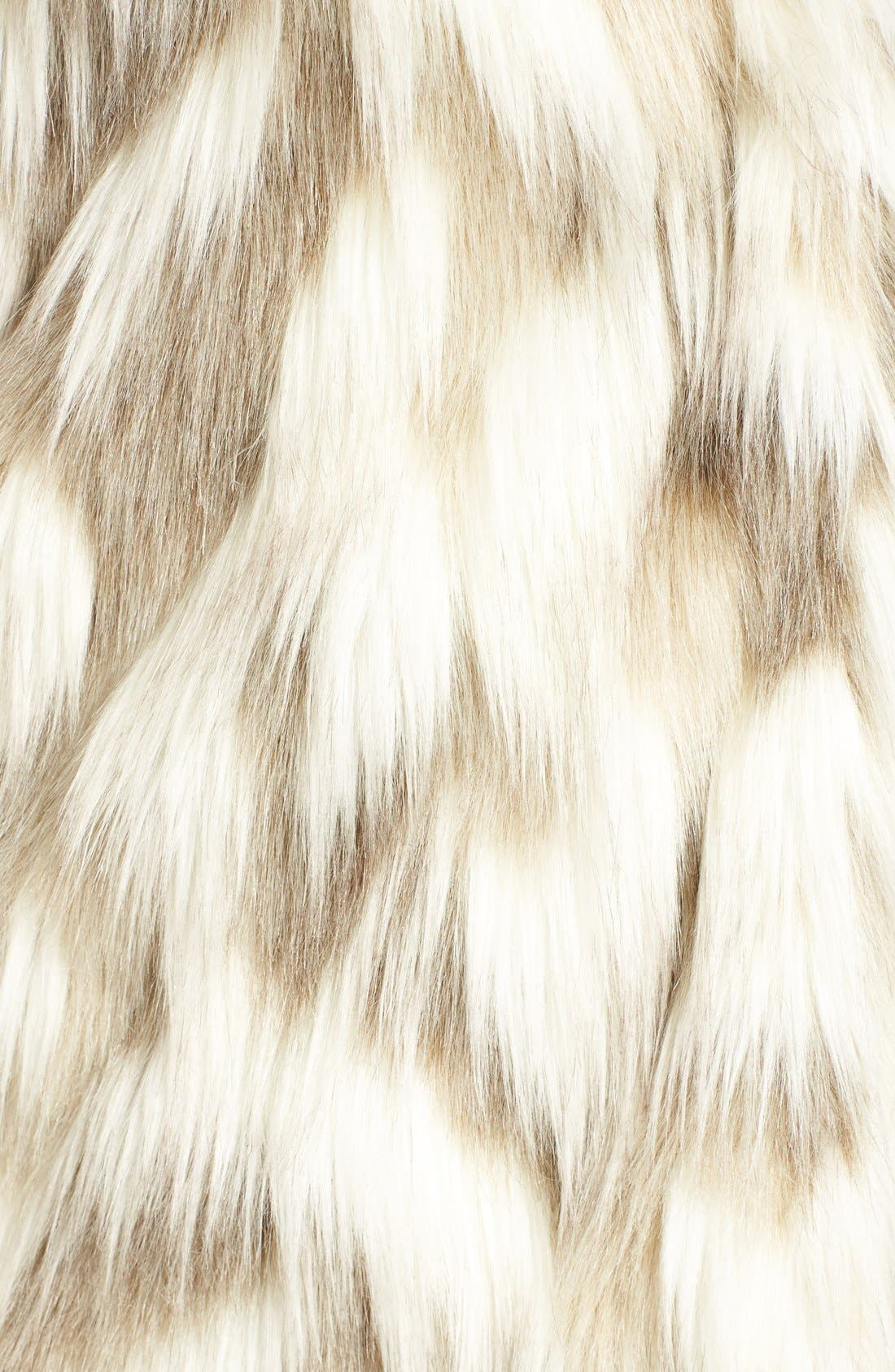 ,                             Phoebe Multicolor Faux Fur Coat,                             Alternate thumbnail 6, color,                             232