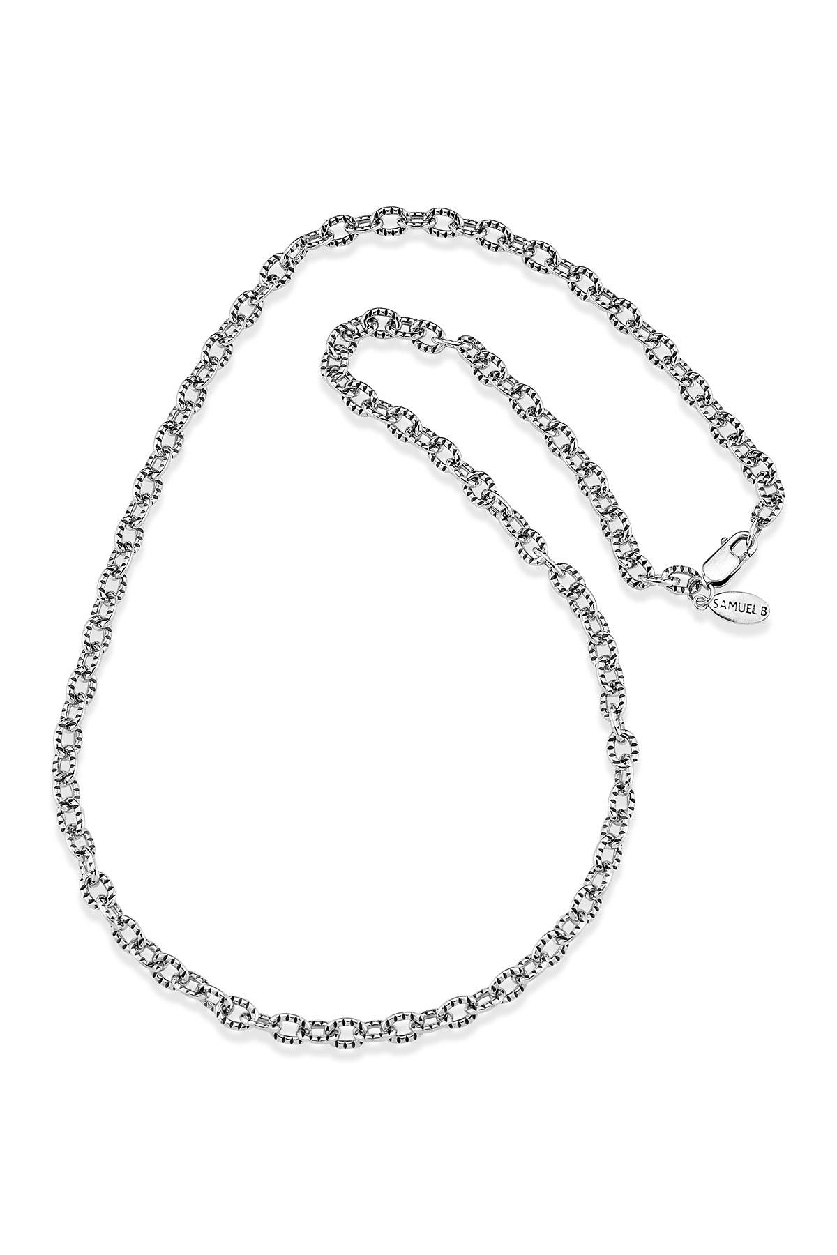Samuel B Jewelry Sterling Silver Textured Cable Chain Necklace Nordstrom Rack Jewelry designs as well as many other wonderful designers. samuel b jewelry sterling silver textured cable chain necklace nordstrom rack