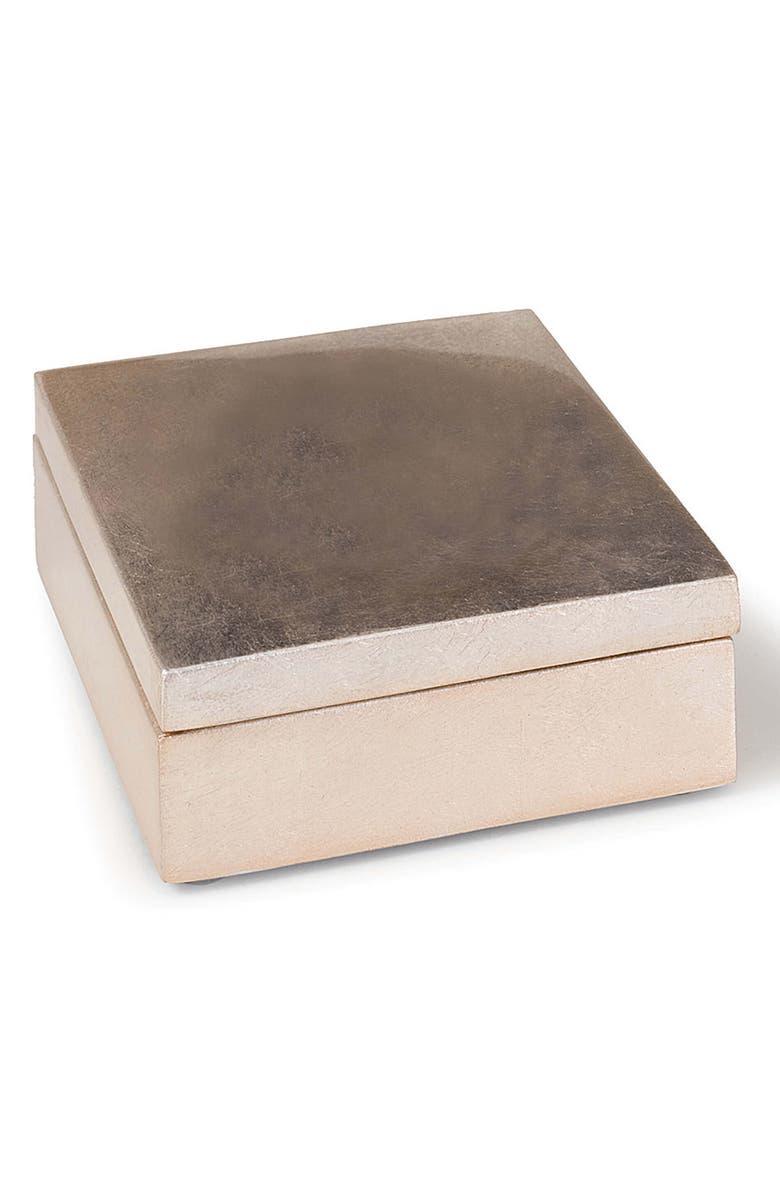 REGINA ANDREW DESIGN Gilded Lidded Box, Main, color, NATURAL
