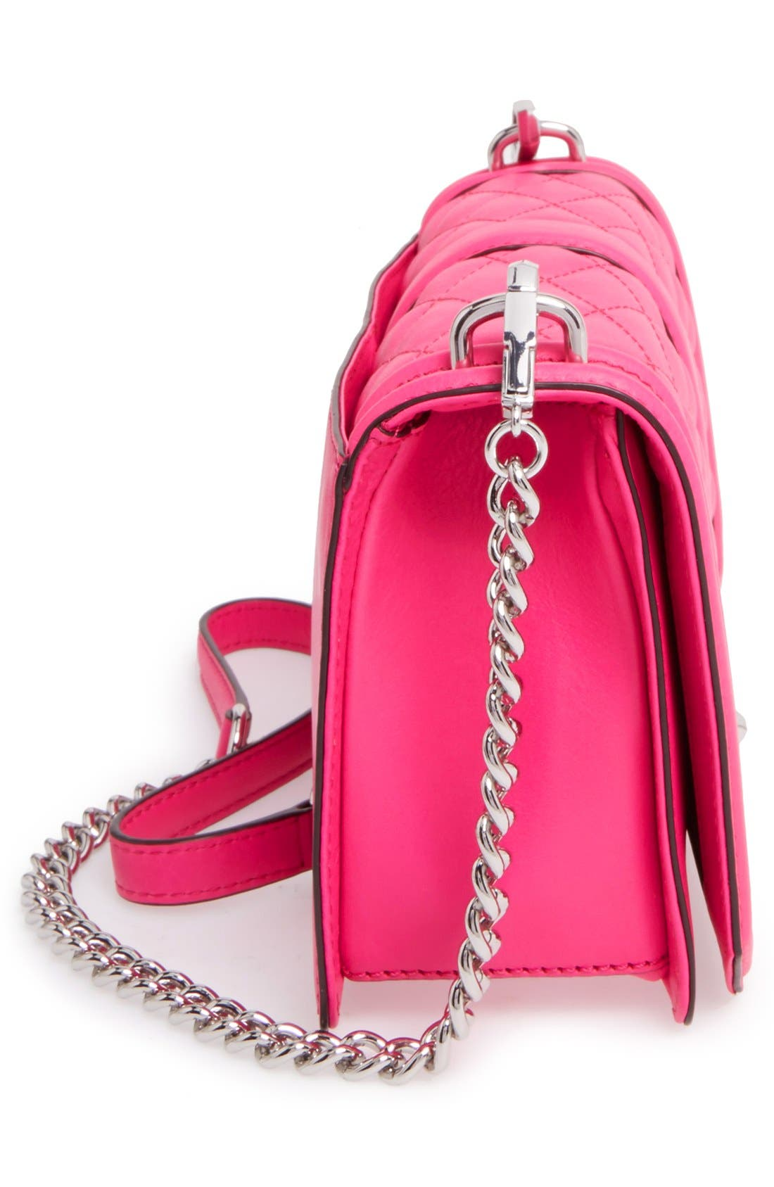 ,                             Love Leather Crossbody Bag,                             Alternate thumbnail 141, color,                             653