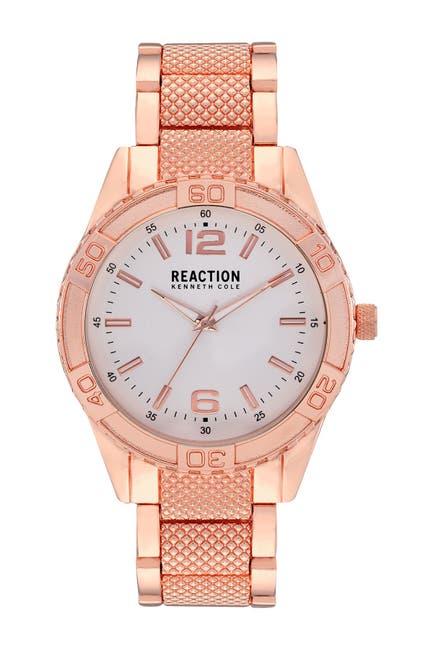 Image of Kenneth Cole Reaction Men's Dress Sport Bracelet Watch, 48mm