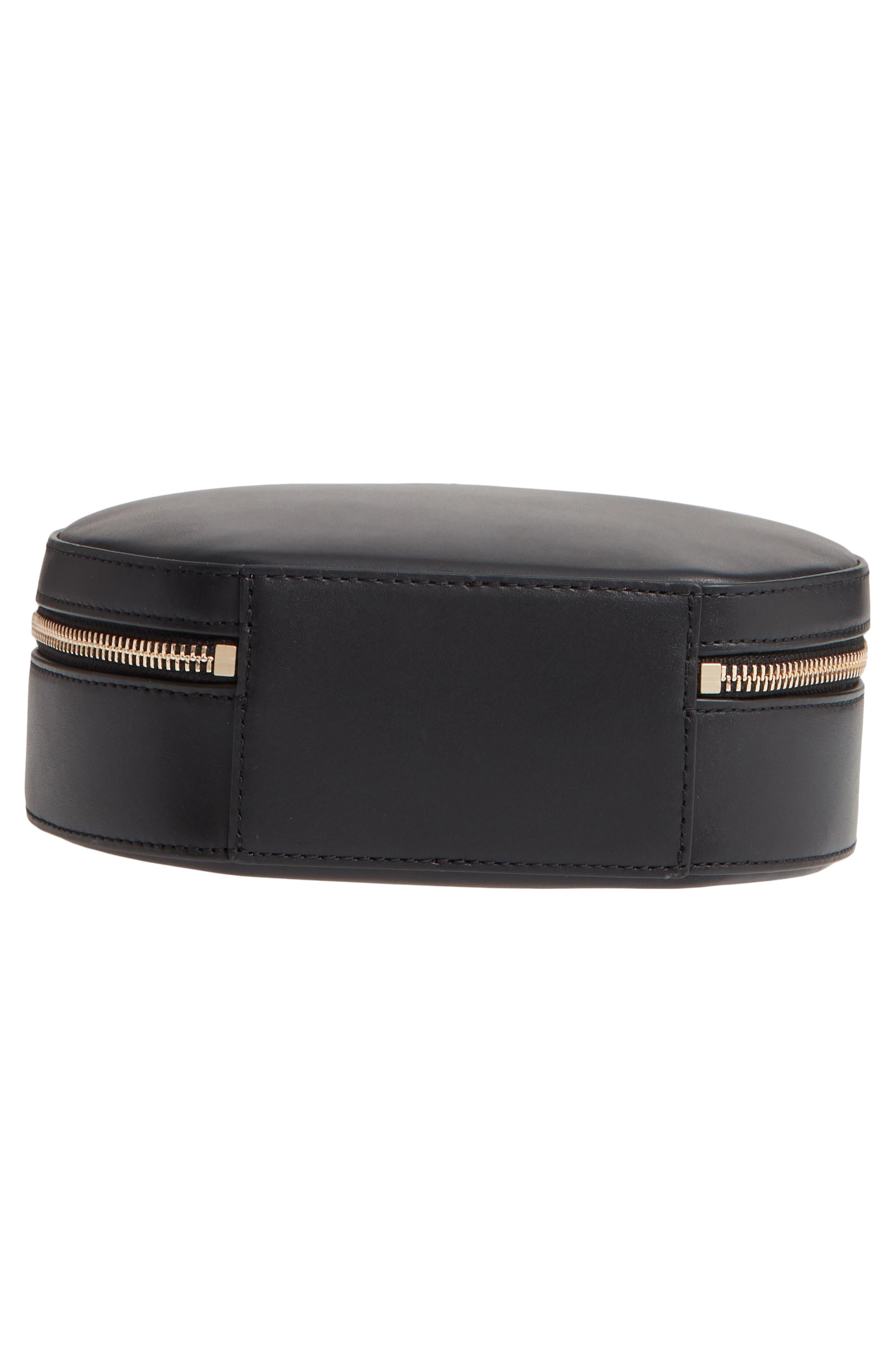 ,                             andi canteen leather crossbody bag,                             Alternate thumbnail 7, color,                             BLACK