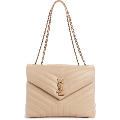 Saint Laurent Medium Loulou Matelasse Leather Shoulder Bag -