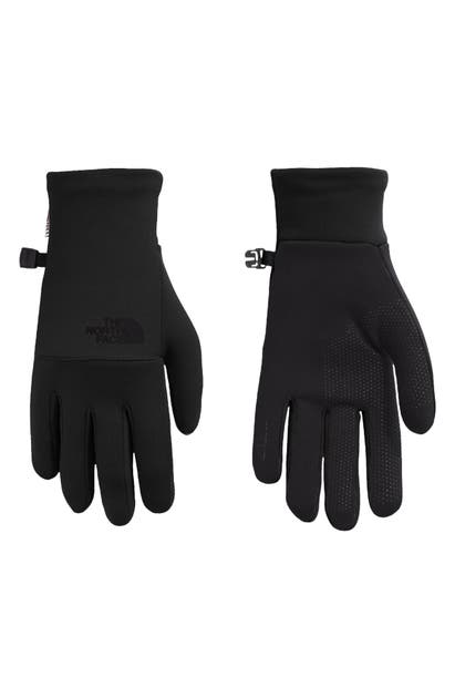 The North Face Etip Gloves In Tnf Black